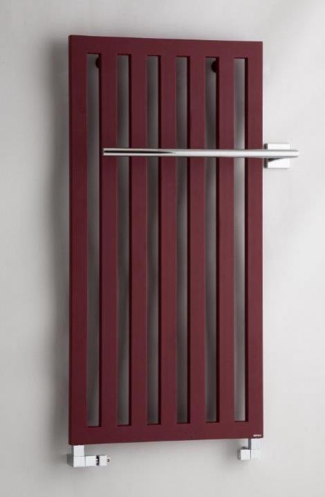 Koupelnový radiátor  Darius -bordó - DA1RE