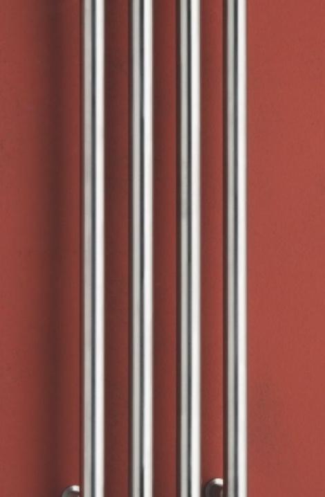 Koupelnový  radiátor  Rosendal  - nerez- R1SS