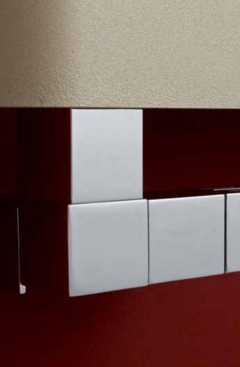Ventil Cube-CET - L  termostatická hlavice