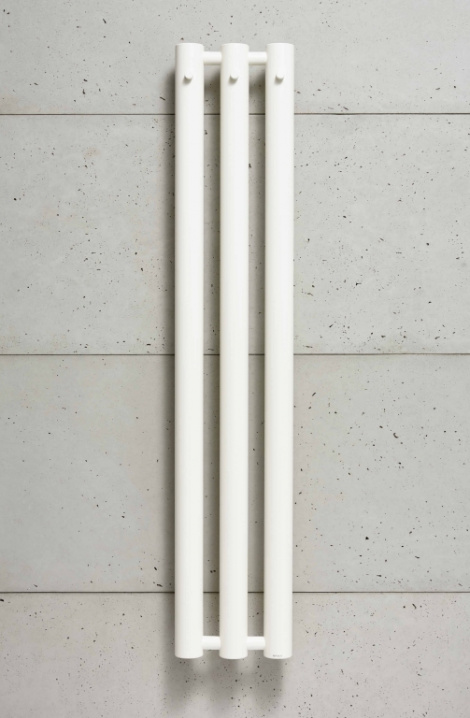 Koupelnový  radiátor  Rosendal  - bílá - R70/3W