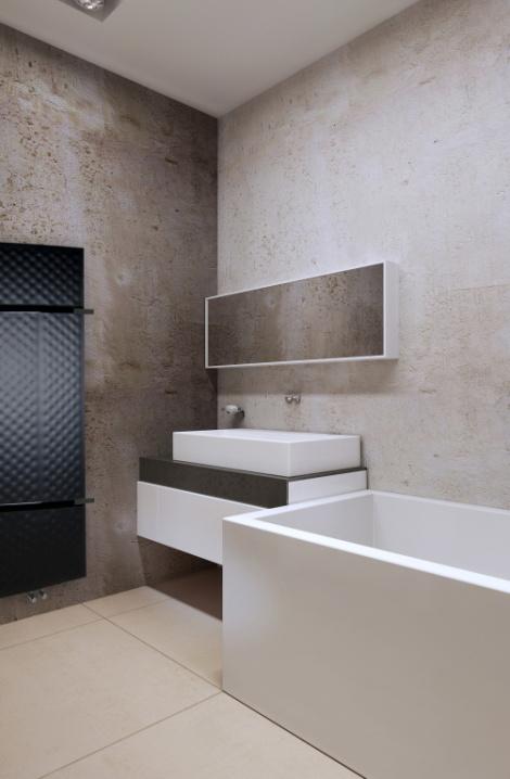 Koupelnový  radiátor  Zone