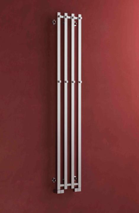 Detail radiátoru Pluto X - chrom